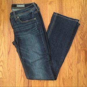 Aeropostale Dark Wash Boot Cut Jeans
